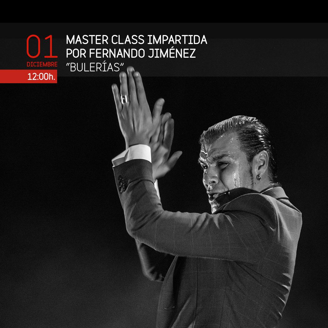 MASTER CLASS FERNANDO JIMÉNEZ