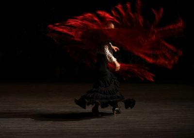 """María Pageogiu seudónimo flamenco rojo """"Solea"""""""